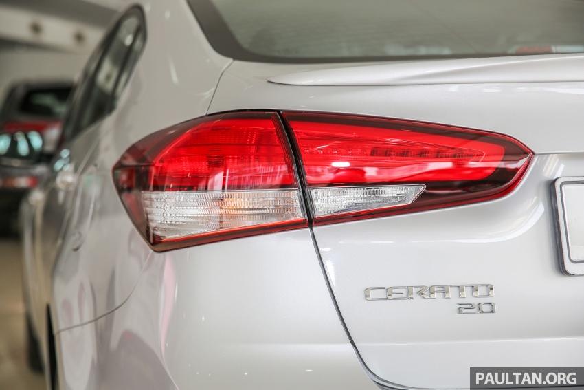Kia Cerato facelift now in showrooms – KX, 1.6L, 2.0L Image #572828