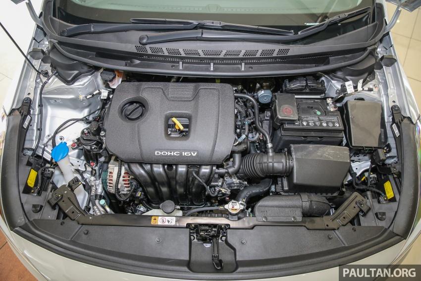 Kia Cerato facelift now in showrooms – KX, 1.6L, 2.0L Image #572835