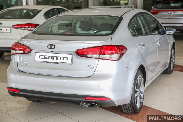 Kia Cerato Facelift Prices Maintained From Rm91 888