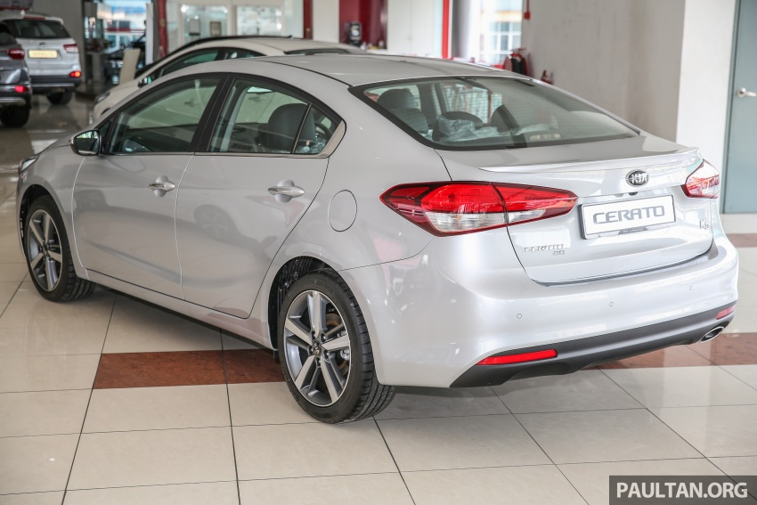 Kia Cerato facelift now in showrooms – KX, 1.6L, 2.0L Image #572809