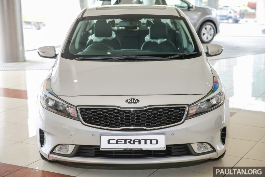 Kia Cerato facelift now in showrooms – KX, 1.6L, 2.0L Image #572810