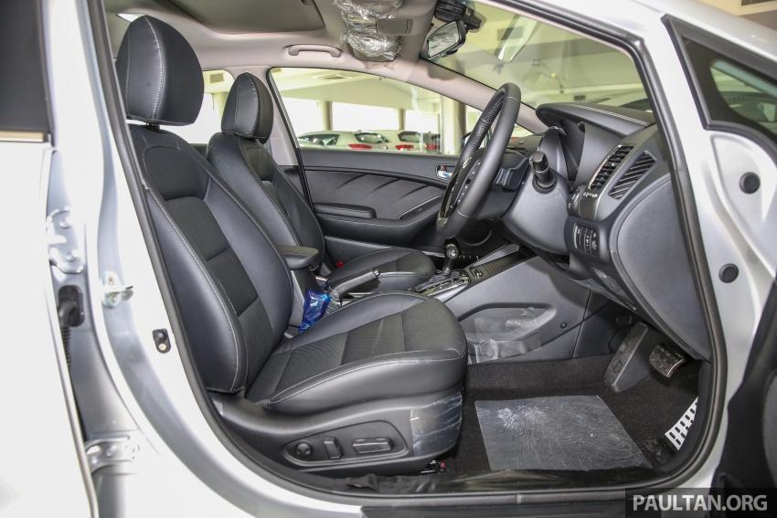 Kia Cerato facelift now in showrooms – KX, 1.6L, 2.0L Image #572867