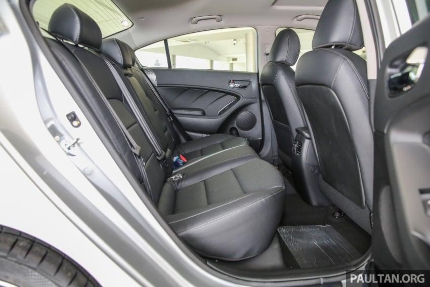 Kia Cerato facelift now in showrooms – KX, 1.6L, 2.0L Image #572869