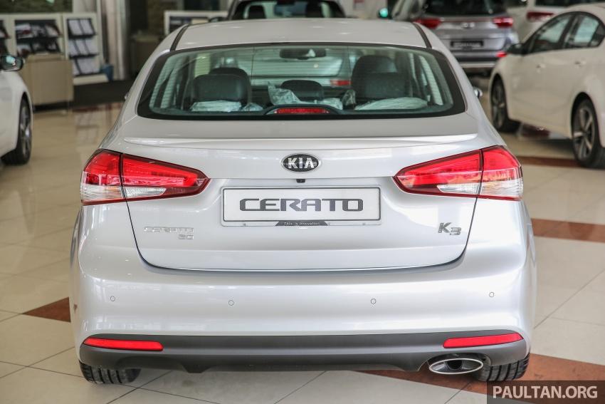 Kia Cerato facelift now in showrooms – KX, 1.6L, 2.0L Image #572813