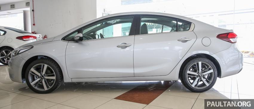 Kia Cerato facelift now in showrooms – KX, 1.6L, 2.0L Image #572814