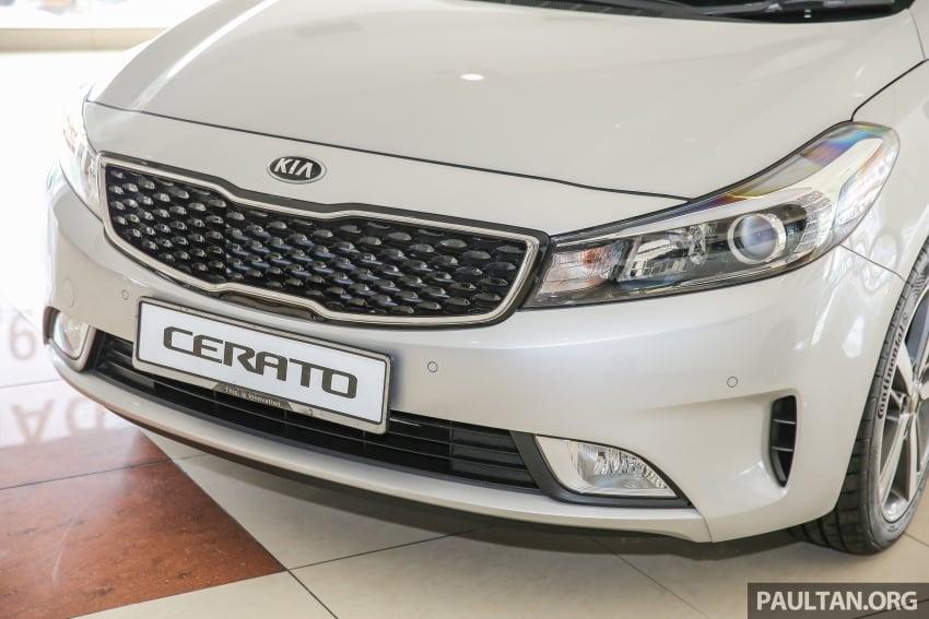 Kia Cerato facelift now in showrooms – KX, 1.6L, 2.0L Image #572815