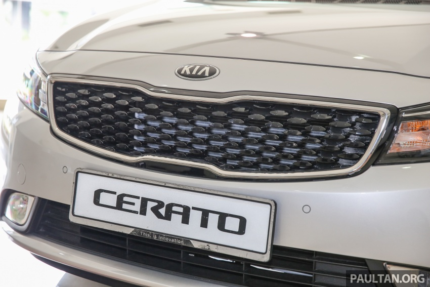 Kia Cerato facelift now in showrooms – KX, 1.6L, 2.0L Image #572816
