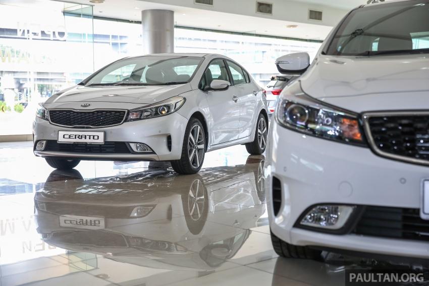 Kia Cerato facelift now in showrooms – KX, 1.6L, 2.0L Image #572874