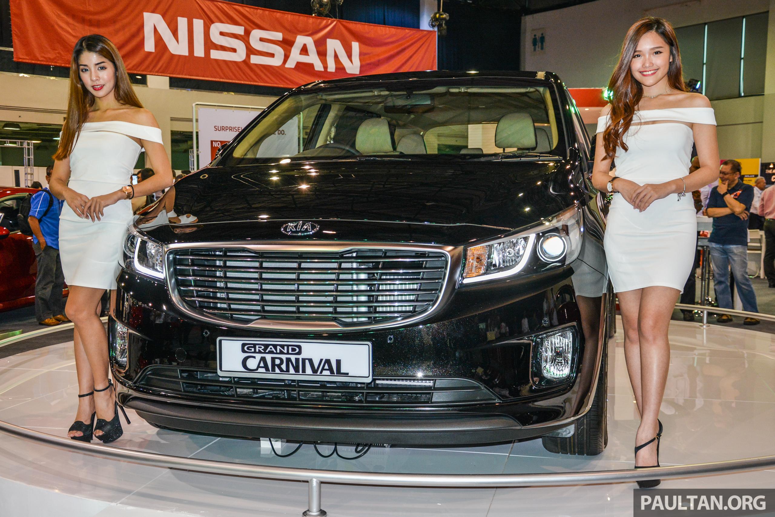 Kia Grand Carnival 2.2 CRDi previewed in Malaysia – high-spec diesel ...