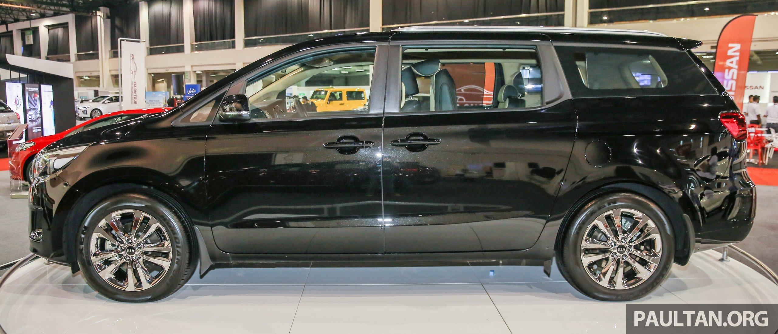 Kia For Sale >> Kia Grand Carnival 2.2 CRDi previewed in Malaysia – high ...