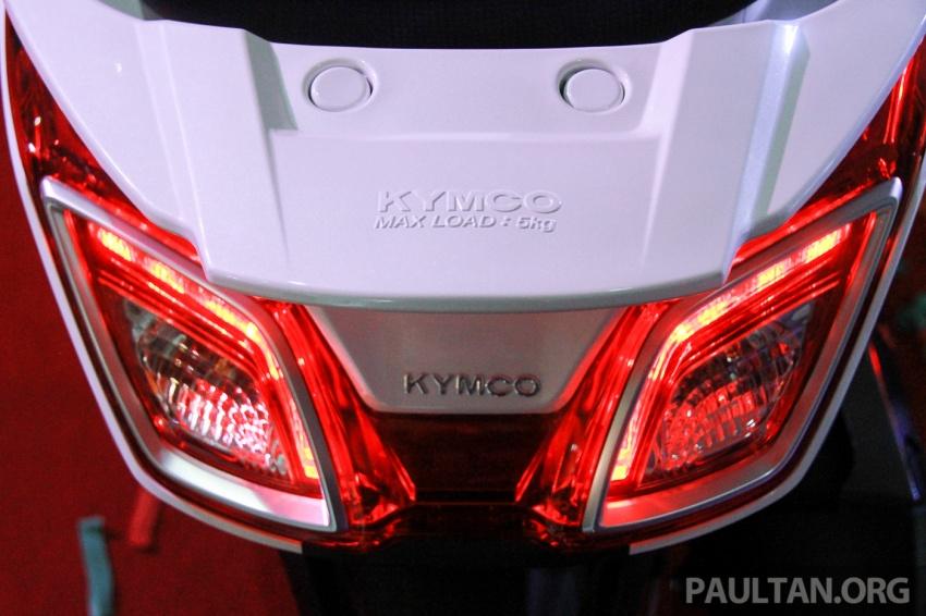 Modenas Karisma 125, Elegan 250 dan Downtown 250i dilancar – tiga skuter hasil kerjasama dengan Kymco Image #584807