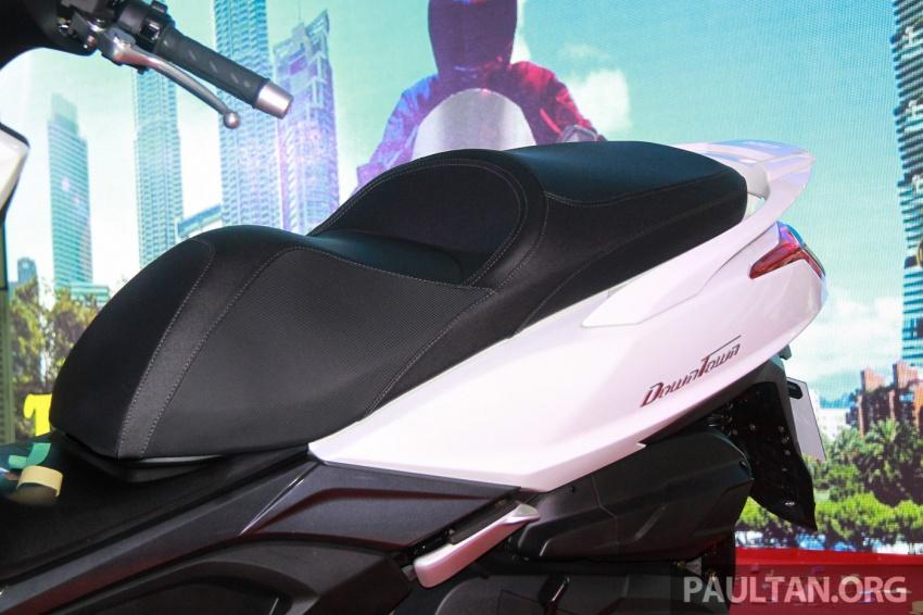 Modenas Karisma 125, Elegan 250 dan Downtown 250i dilancar – tiga skuter hasil kerjasama dengan Kymco Image #584790