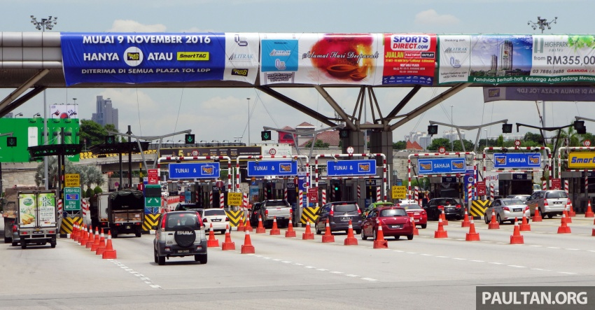 All 31 highways, 177 toll plazas in M'sia to go cashless (ETC) by 2017; usage now 93%, transaction time 3 sec Image #573443