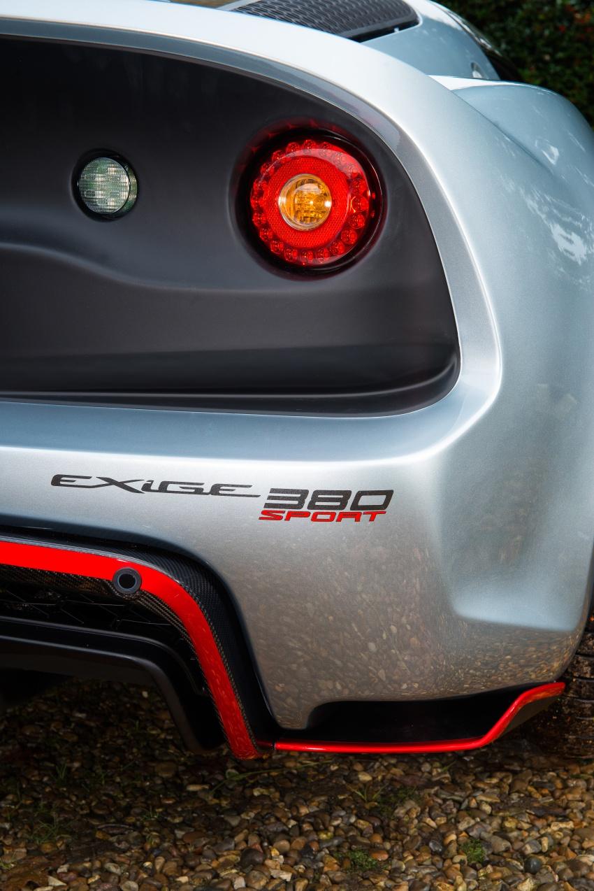 Lotus Exige Sport 380 unveiled – 375 hp, 1,066 kg Image #583982