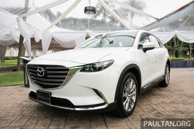 new mazda cx 9 previewed in m 39 sia june 2017 launch. Black Bedroom Furniture Sets. Home Design Ideas