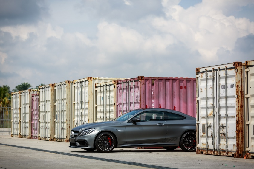 Mercedes-AMG C 63 Coupe S debuts – RM773,888 Image #580843