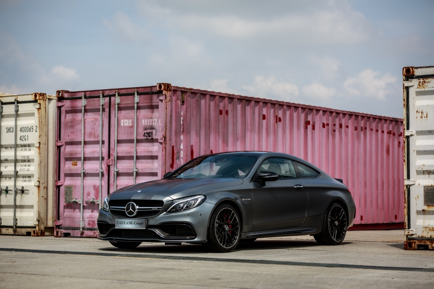 Mercedes-AMG C 63 Coupe S debuts – RM773,888 Image #580845