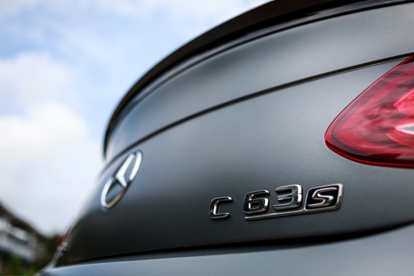 Mercedes-AMG C 63 Coupe S debuts – RM773,888 Image #580849