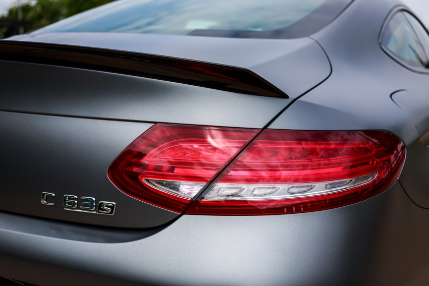 Mercedes-AMG C 63 Coupe S debuts – RM773,888 Image #580852