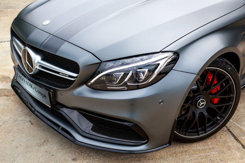 Mercedes-AMG C 63 Coupe S debuts – RM773,888 Image #580860