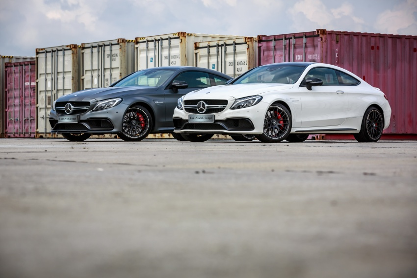 Mercedes-AMG C 63 Coupe S debuts – RM773,888 Image #580819