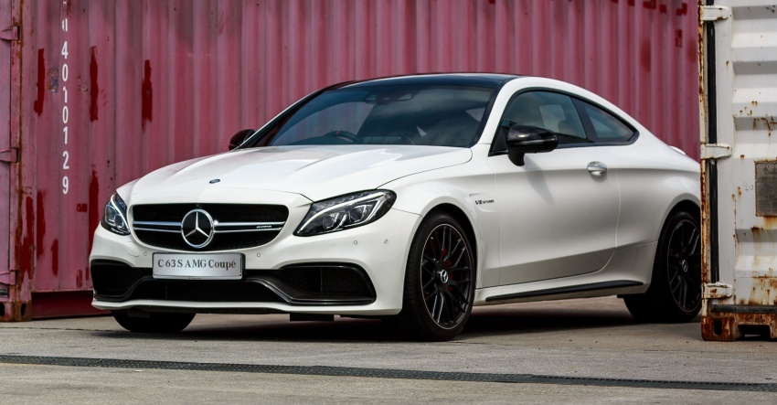 Mercedes-AMG C 63 Coupe S debuts – RM773,888 Image #580821