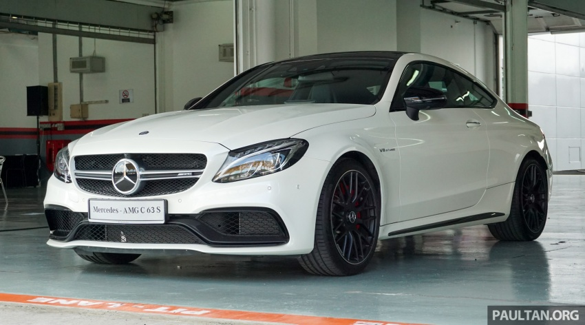 Mercedes-AMG C 63 Coupe S debuts – RM773,888 Image #581169