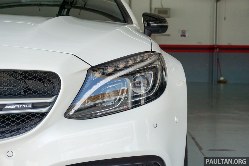Mercedes-AMG C 63 Coupe S debuts – RM773,888 Image #581182