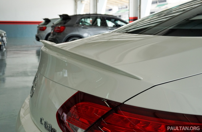 Mercedes-AMG C 63 Coupe S debuts – RM773,888 Image #581188