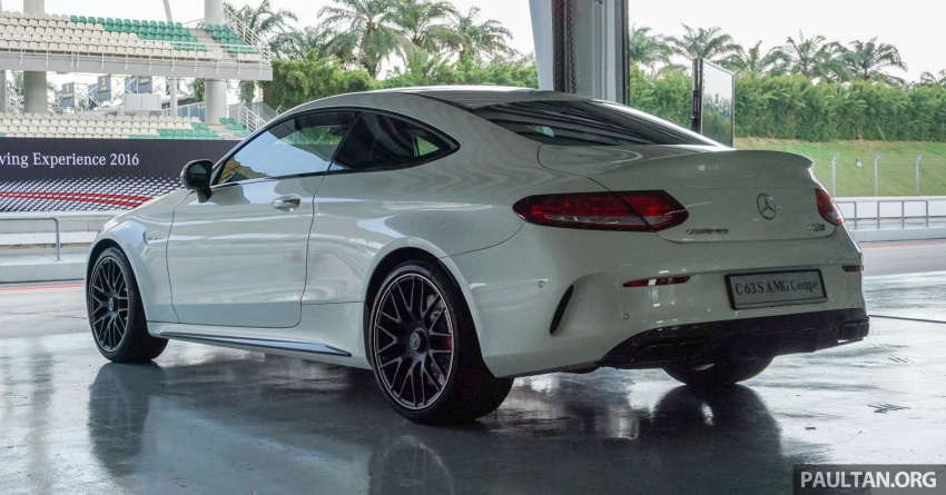 Mercedes-AMG C 63 Coupe S debuts – RM773,888 Image #581170