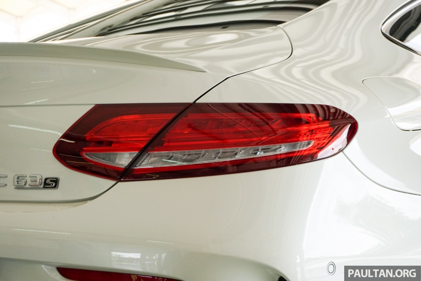 Mercedes-AMG C 63 Coupe S debuts – RM773,888 Image #581191
