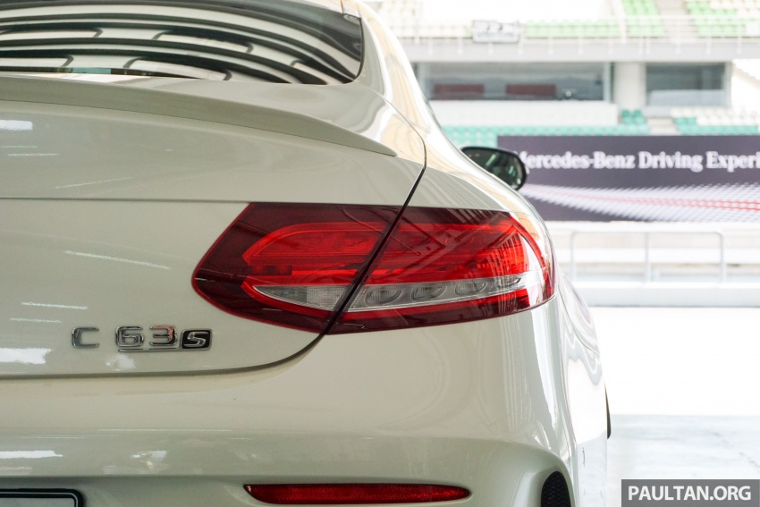 Mercedes-AMG C 63 Coupe S debuts – RM773,888 Image #581192