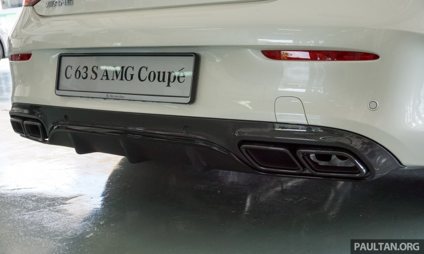 Mercedes-AMG C 63 Coupe S debuts – RM773,888 Image #581193