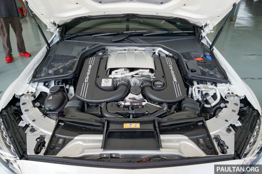 Mercedes-AMG C 63 Coupe S debuts – RM773,888 Image #581197
