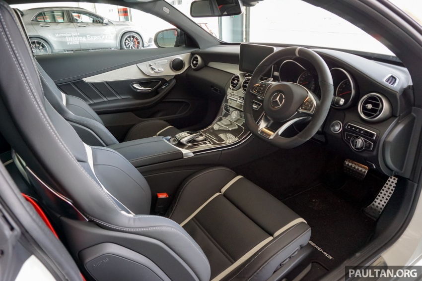 Mercedes-AMG C 63 Coupe S debuts – RM773,888 Image #581199