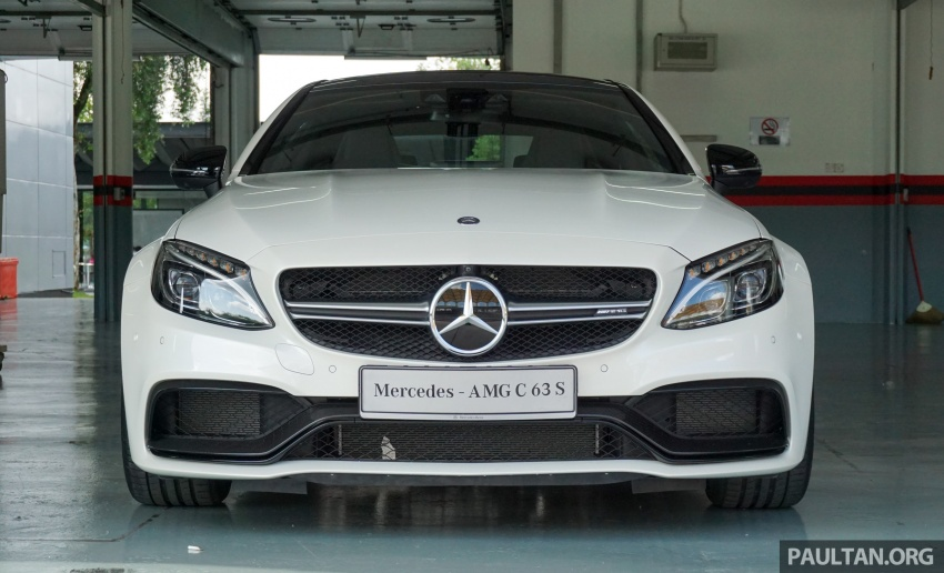 Mercedes-AMG C 63 Coupe S debuts – RM773,888 Image #581171