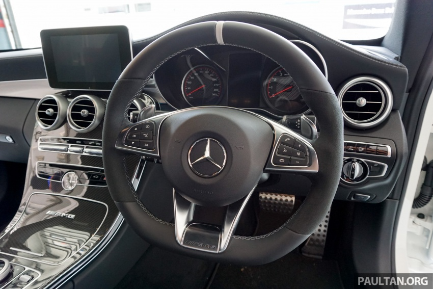 Mercedes-AMG C 63 Coupe S debuts – RM773,888 Image #581204