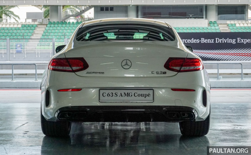 Mercedes-AMG C 63 Coupe S debuts – RM773,888 Image #581172