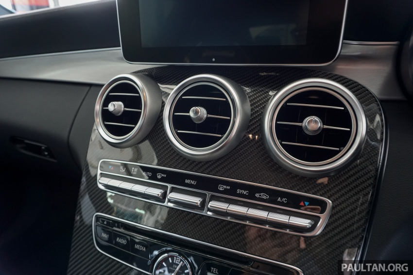 Mercedes-AMG C 63 Coupe S debuts – RM773,888 Image #581213