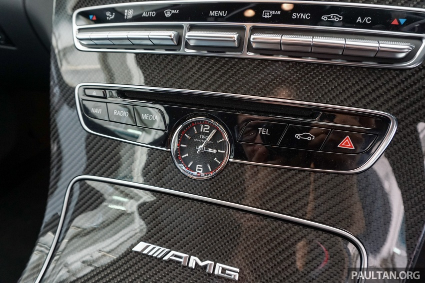 Mercedes-AMG C 63 Coupe S debuts – RM773,888 Image #581214