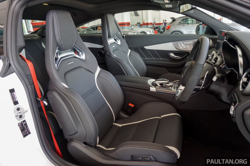 Mercedes-AMG C 63 Coupe S debuts – RM773,888 Image #581219
