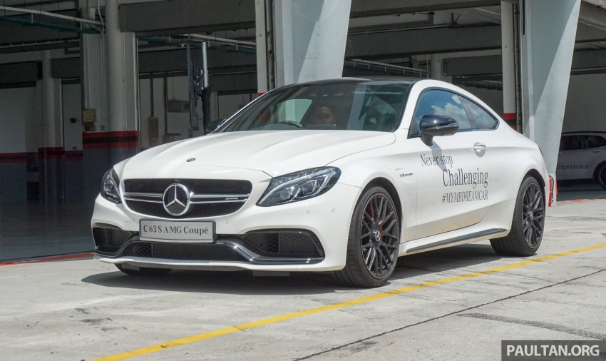 Mercedes-AMG C 63 Coupe S debuts – RM773,888 Image #581220