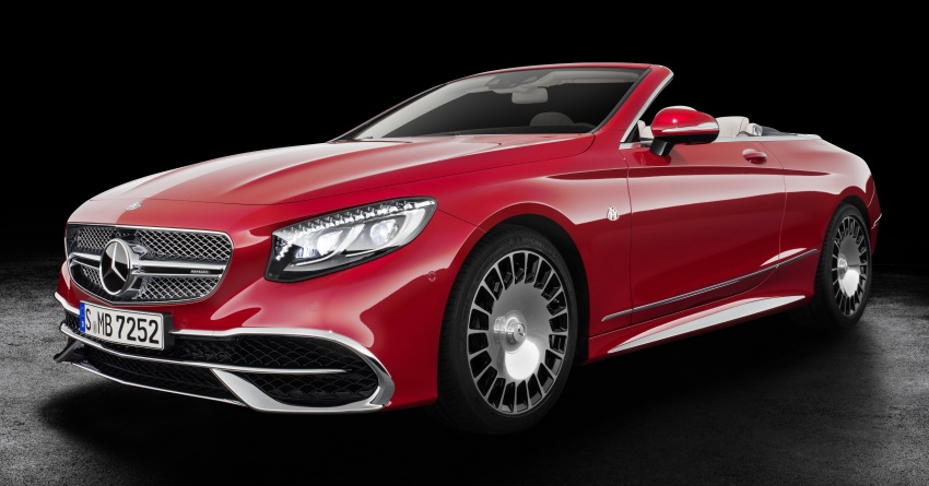 Mercedes-Maybach S650 Cabriolet – 300 units only Image #580337