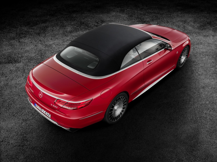 Mercedes-Maybach S650 Cabriolet – 300 units only Image #580344