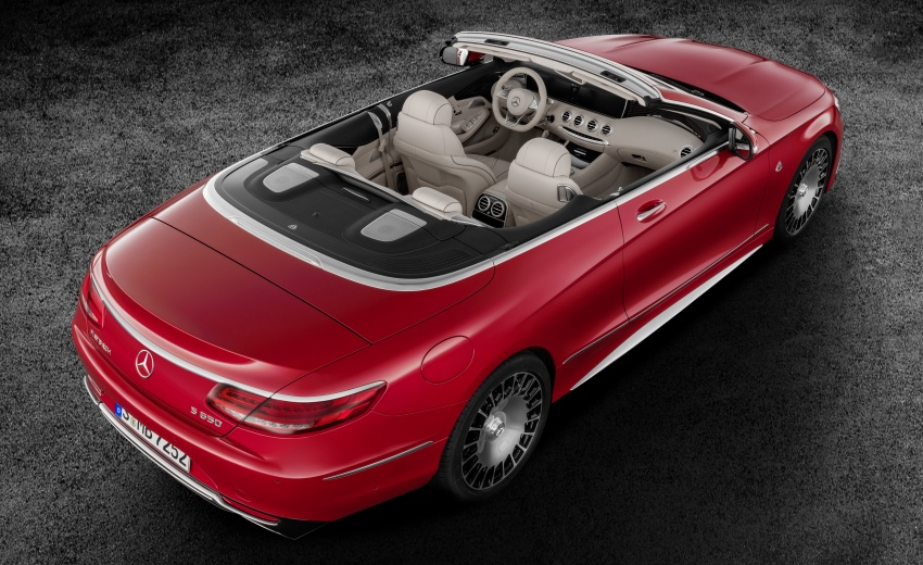 Mercedes-Maybach S650 Cabriolet – 300 units only Image #580346