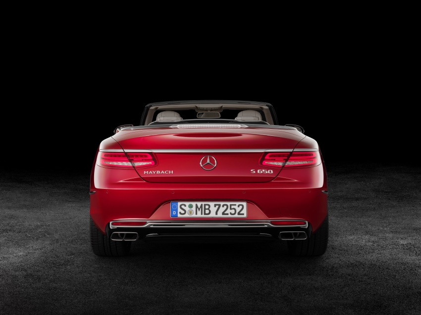 Mercedes-Maybach S650 Cabriolet – 300 units only Image #580348