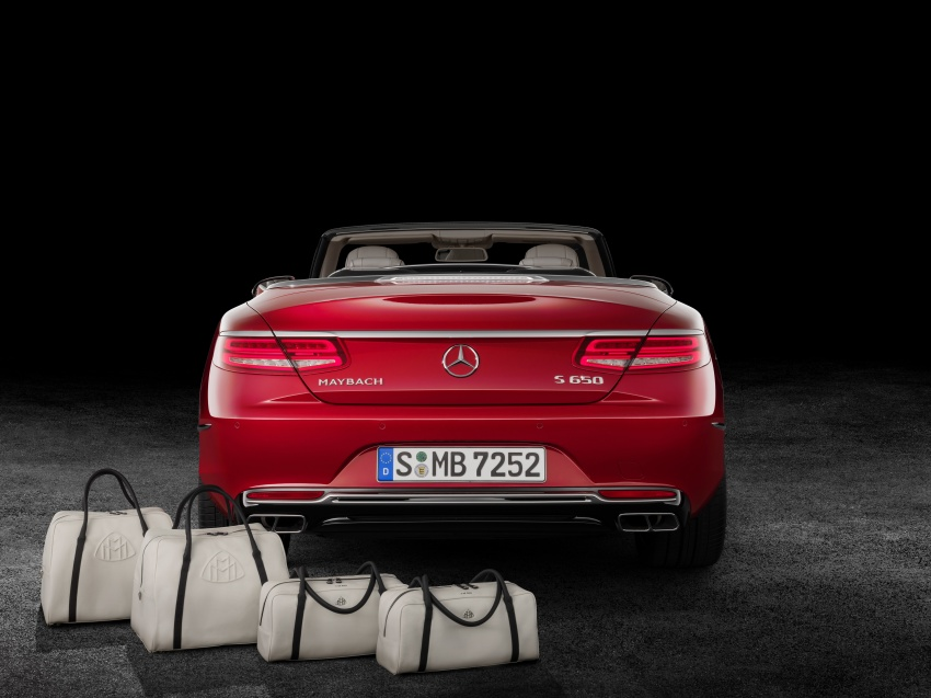 Mercedes-Maybach S650 Cabriolet – 300 units only Image #580349