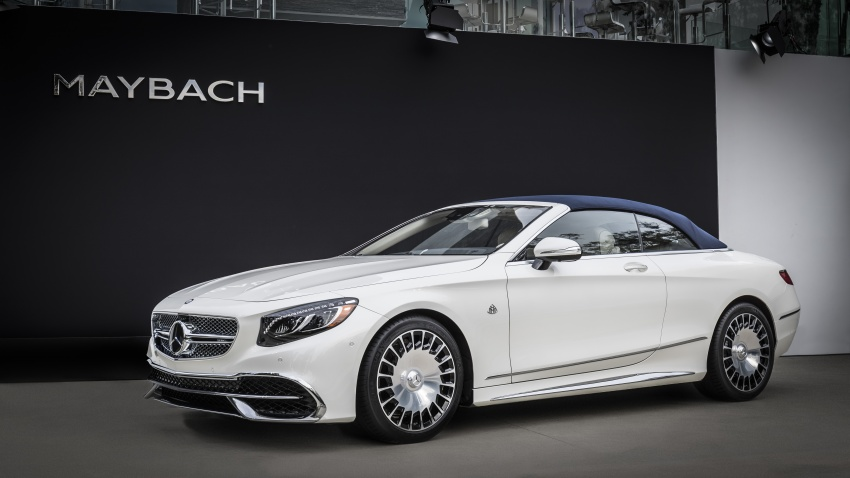 Mercedes-Maybach S650 Cabriolet – 300 units only Image #580363