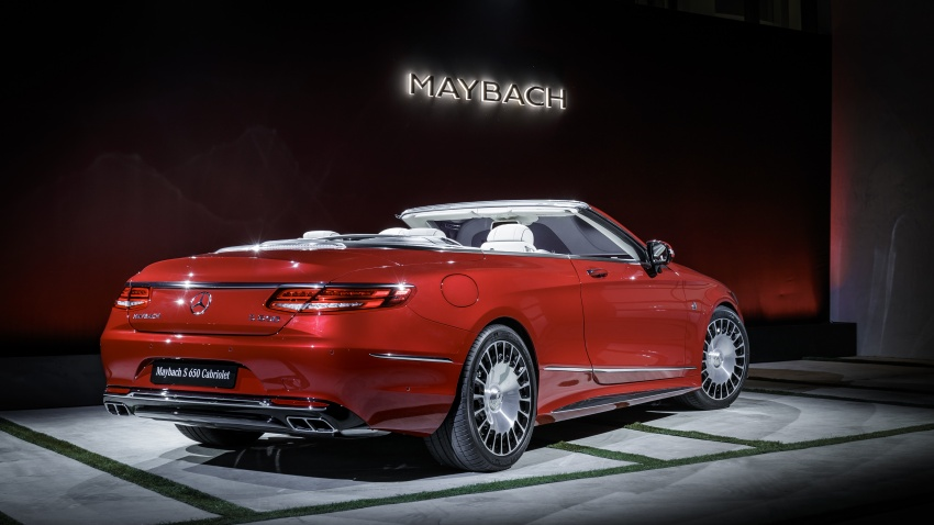 Mercedes-Maybach S650 Cabriolet – 300 units only Image #580371