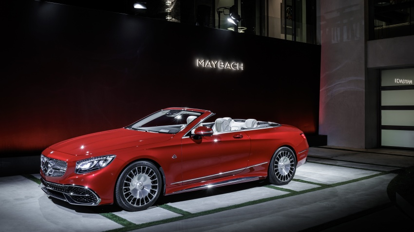 Mercedes-Maybach S650 Cabriolet – 300 units only Image #580373